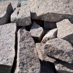 Guillotined Granite